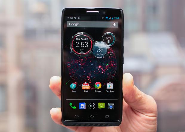 Motorola Droid Maxx có dung lượng pin lâu, giúp người dùng thoải mái nghe, gọi, giải trí