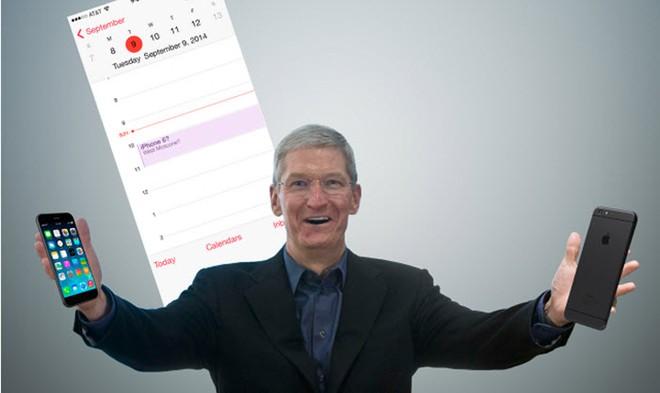 Phiên bản 4,7 inch hay 5,5 inch sẽ xuất hiện trong ngày ra mắt của iPhone 6