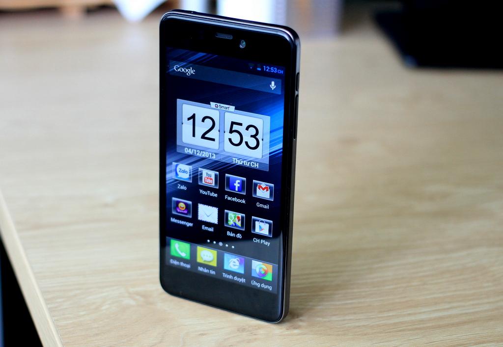 Q-Mobile Q Smart Dream S1 là một trong top 10 smartphone giá rẻ màn hình lớn