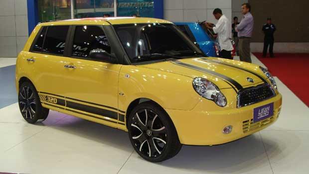 Lifan 320 được nhập khẩu nguyên chiếc từ Lifan Trùng Khánh (Trung Quốc)