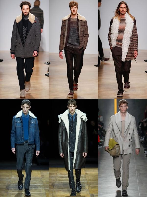 Những mẫu áo khoác thu đông nam lịch lãm, sành điệu.