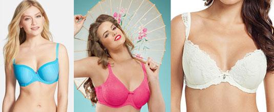 Các chị em có thể chọn các loại áo ngực Turquoise Panache với giá 1.038.800 đồng, Hot Pink Sculptresse ren hồng nóng bỏng với giá khoảng 911.600 đồng hay Masquerade Panache ren trắng với giá khoảng 2.332.000 đồng