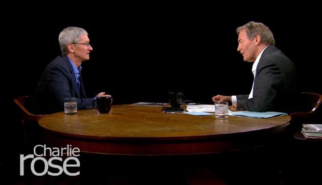 Giám đốc điều hành Tim Cook trò chuyện với Charlie Rose về kế hoạch Kinh doanh TV của Apple