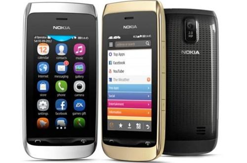 Asha cũng là một trong những thương hiệu được Microsoft đăng ký bản quyền