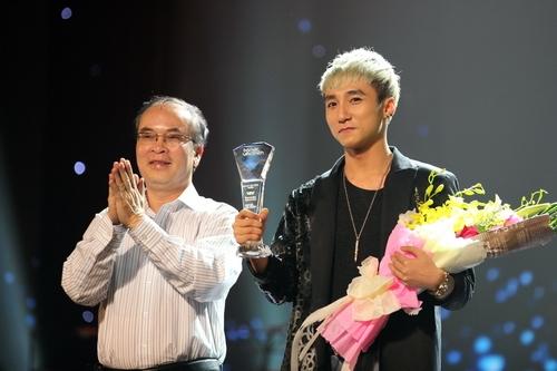 Sơn Tùng hơn một lần nhận giải trong chương trình Bài hát yêu thích