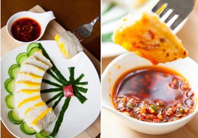 Món chả cá hấp ăn kèm với cơm nóng khi cá còn nóng nhé!