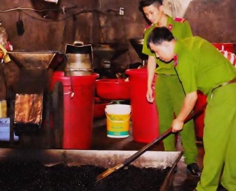 Chế biến cà phê không đảm bảo chất lượng
