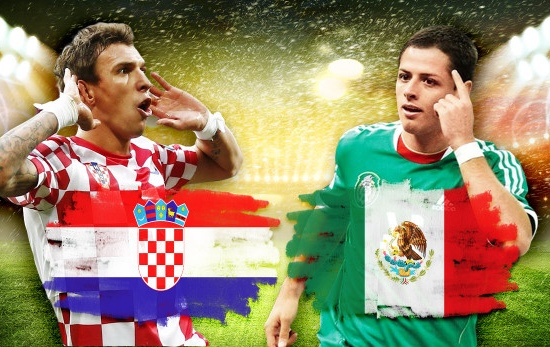 Kết quả tỉ số trận đấu Croatia – Mexico World Cup 2014