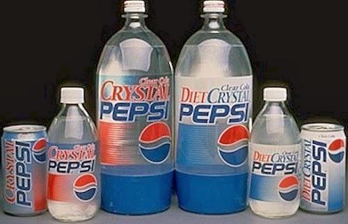 quảng cáo thất bại của Crystal Pepsi