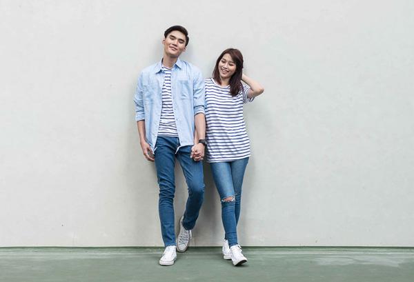 Các cặp đôi trẻ có thể mặc đẹp mỗi ngày với bộ đồ đôi ton sur ton