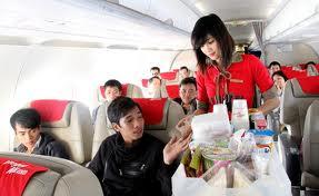 Dịch vụ trên VietJet Air