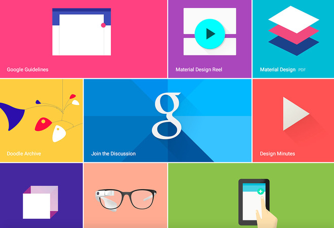 google giới thiệu tk mới