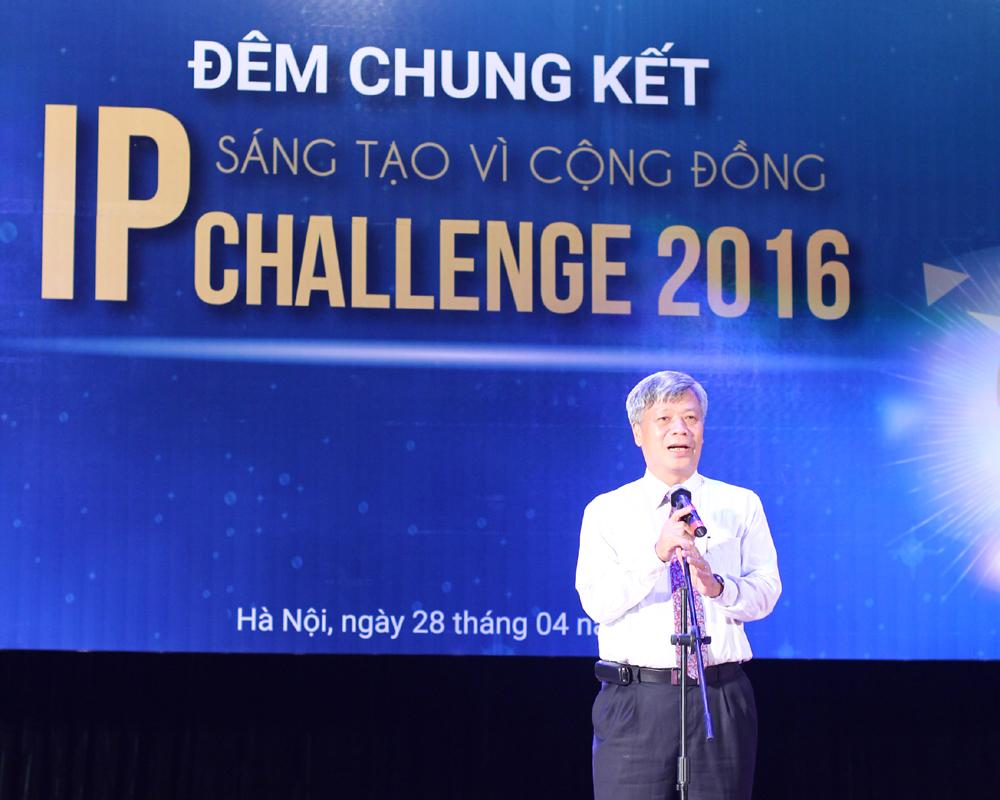 Thứ trưởng Trần Việt Thanh phát biểu khai mạc đêm chung kết
