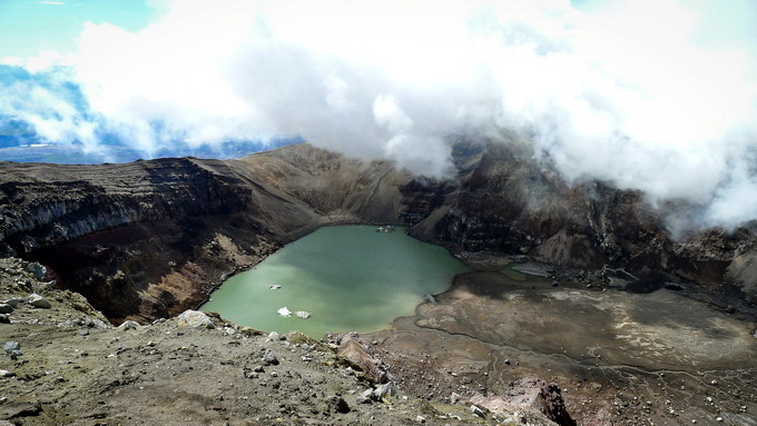 núi lửa Kamchatka