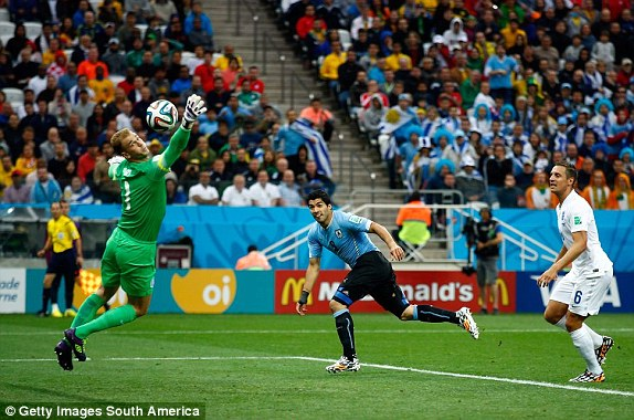 Kết quả tỉ số trận đấu Anh – Uruguay