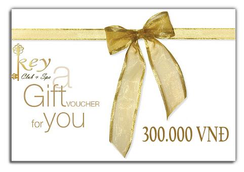 Gift voucher của các dịch vụ, sản phẩm