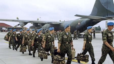 Nga tăng cường quân sự tại nước ngoài