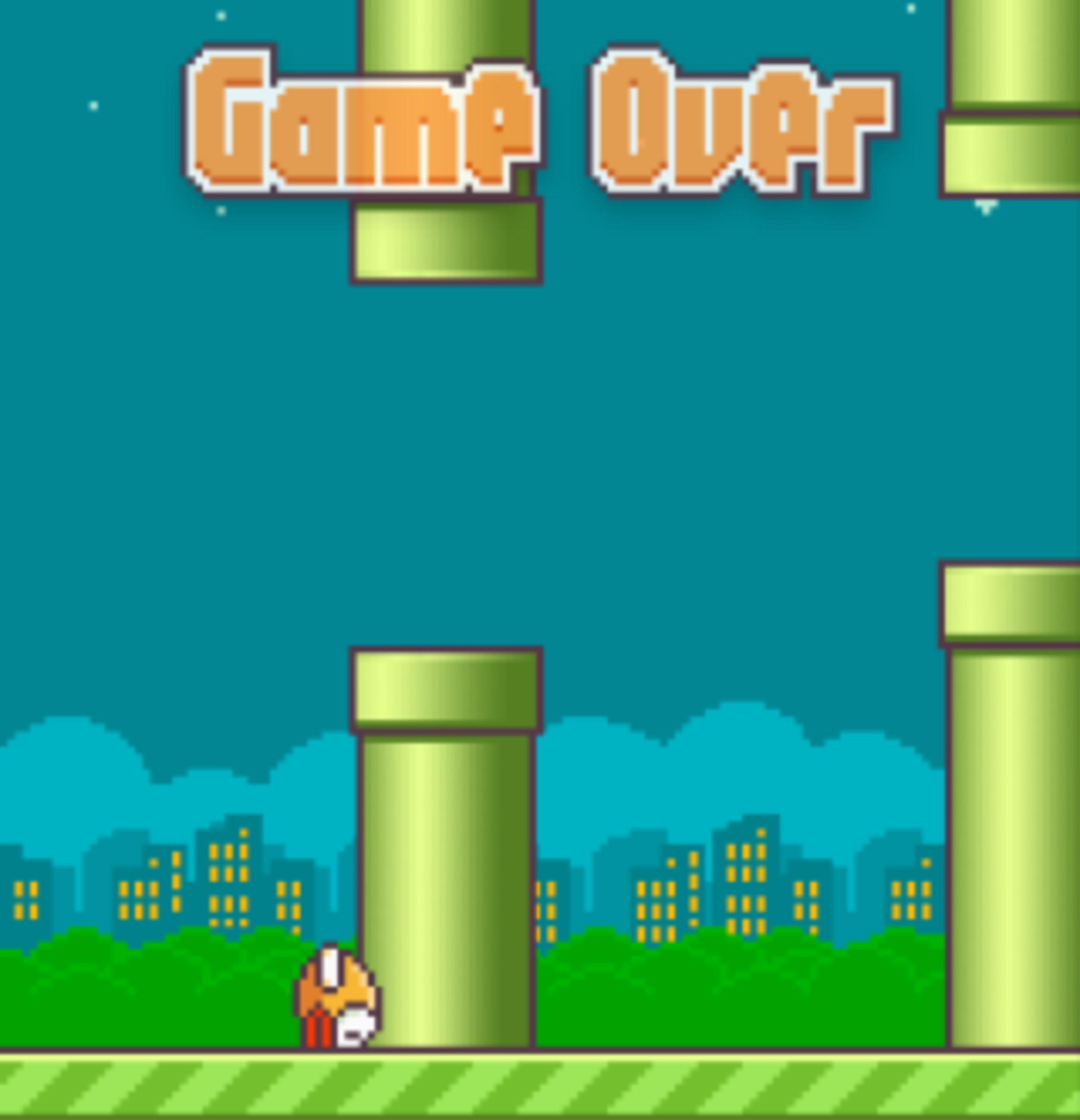 Trò chơi gây nghiện Flappy Bird