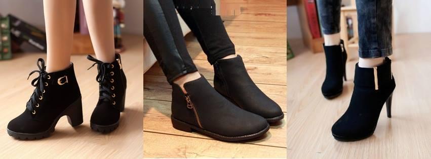 Các nàng có thể chọn cho mình kiểu giày booties cao, thấp tùy ý, là lựa chọn hoàn hảo trong mùa thời trang thu 2014.