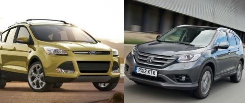 Khi đặt lên bàn cân so sánh xe ô tô, cả Ford Escape và Honda CR-V đều có những lợi thế nhất định
