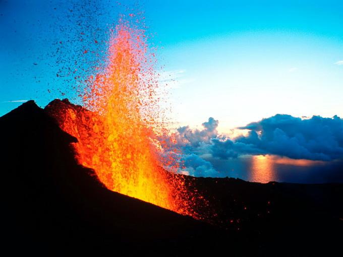 ngọn núi lửa Piton des Neiges