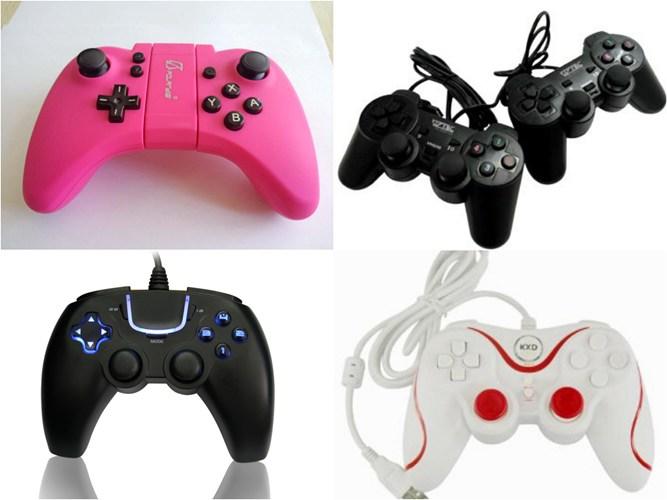 Trên thị trường, các dòng tay cầm có mức giá khá đắt như: Gamepad Betopn (1,2 triệu), Xbox 360 (950 nghìn) khá hút khách vì tính năng nổi bật, sử dụng nhạy bén, các phím nút trơn mượt. Các dòng tay cầm chơi game có giá mềm hơn như: Sony DualShock 3 PS3 (khoảng 650 – 800 nghìn), Genius Wireless (600 nghìn). Rẻ hơn rất nhiều và được giới sinh viên chuộng dùng là dòng Micro kingdom (110 nghìn), Pad boxker (130 nghìn)…