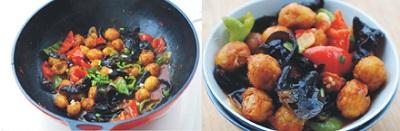 Rắc hành lá vào, xào đều khoảng 5-7 phút, nêm nếm gia vị cho vừa miệng ăn rồi tắt bếp.