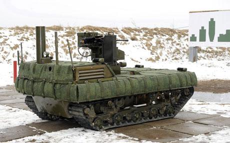 Một robot sát thủ của Nga