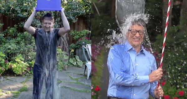 Ice Bucket Challenge được các người nổi tiếng trên thế giới hưởng ứng