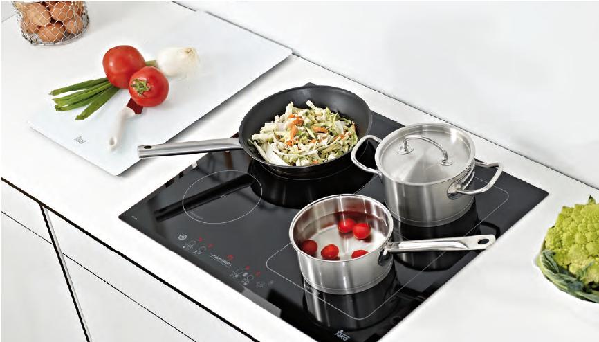 Khi thoáng nhìn, bếp từ và bếp hồng ngoại đều giống nhau