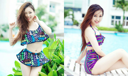 Mẫu bikini hè đang được ưa chuộng năm này với nhiều kiểu họa tiết bắt mắt