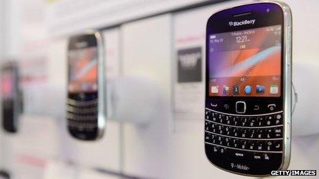 Blackberry đạt 23 triệu đô la Mỹ lợi nhuận