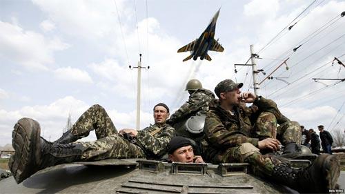 tình hình mới nhất ở Ukraine