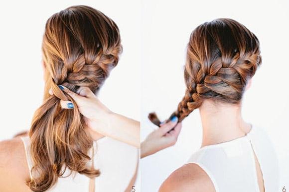 Tóc tết lệch một bên là một trong các kiểu tóc đẹp được phái đẹp yêu thích từ rất lâu