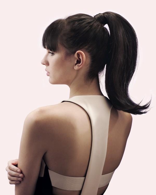 Một trong các kiểu tóc đẹp vừa nổi bật vừa quý phái là kiểu tóc đuôi ngựa