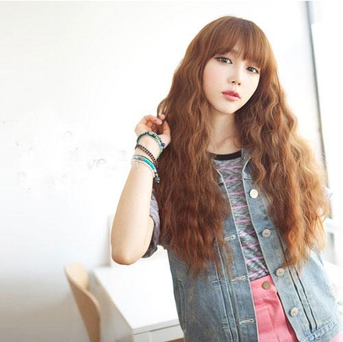 Các kiểu tóc đẹp như tóc dập xù cả đầu trẻ trung và cá tính