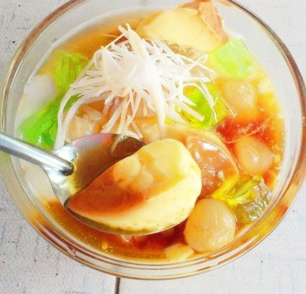 Caramen hoa quả là món ăn mùa hè ngon mát và bổ dưỡng