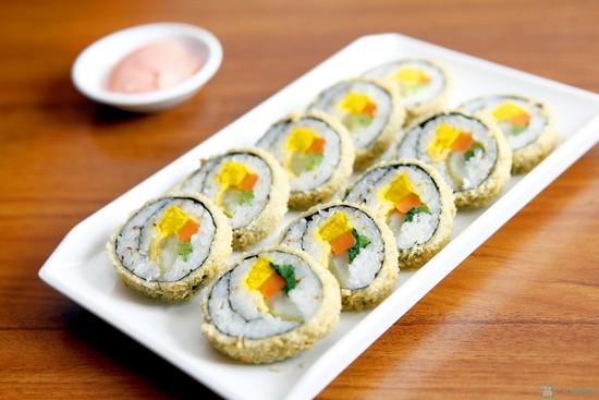 Làm món ăn truyền thống của Hàn Quốc kimbap chiên xù với các bước cực đơn giản