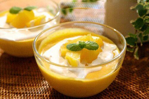 Cách làm pudding xoài khá đơn giản và không mất nhiều thời gian