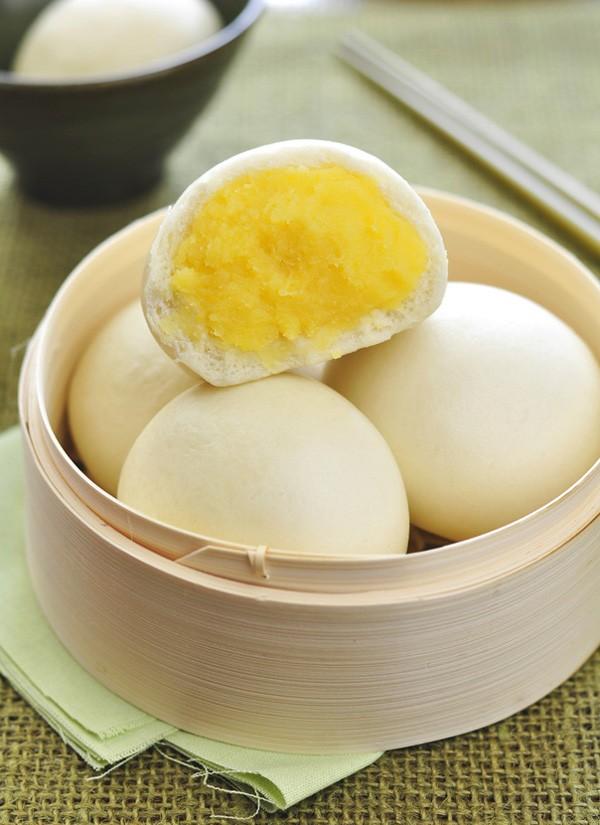 Cách làm bánh bao trứng sữa rất đơn giản và nhanh chóng