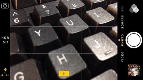 Sử dụng lưới tọa độ là một trong những cách chụp ảnh đẹp bằng iPhone