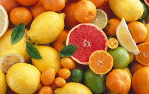 trái cây giàu vitamin C giúp tăng cường khả năng sinh sản