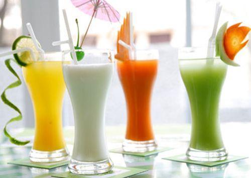 tránh xa sinh tố hoa quả khi giảm cân