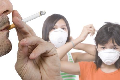 Hút thuốc thụ động có thể dẫn đến ung thư phổi
