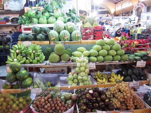 Trái cây Thái Lan vượt mặt Trung Quốc tràn lan vào chợ Việt.