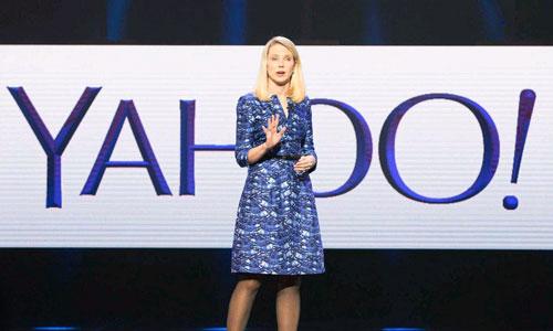 CEO Marissa Mayer đang rất tích cực để có thể vực dậy công ty Yahoo