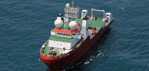 Tàu Fugro Equator tham gia tìm kiếm máy bay mất tích MH370
