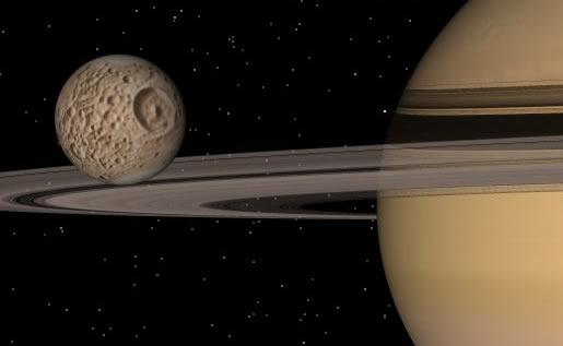 Mặt trăng Sao Thổ có quỹ đạo lệch tâm