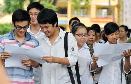 26 Trường Đại học đã công bố điểm chuẩn đại học năm 2014. Ảnh minh họa