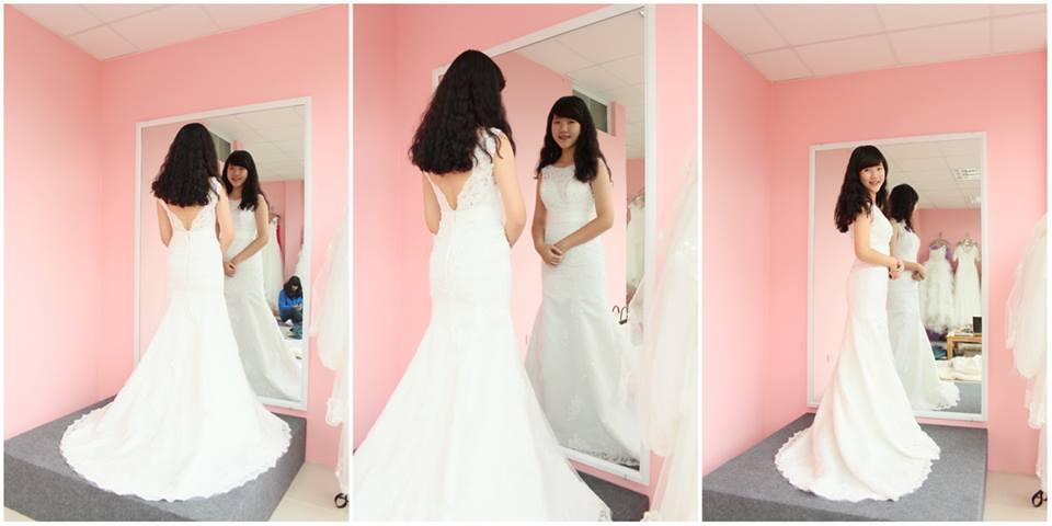 Tiệm may váy cưới Hồng Phú đa dạng và phong cách